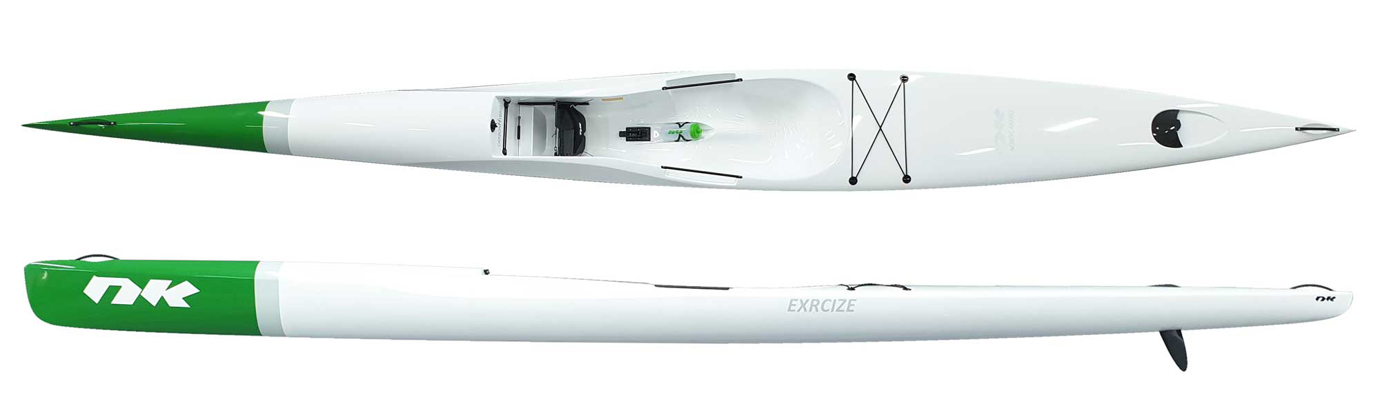 Exrcize CarbonLite Ice white